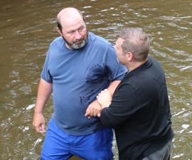 Jeff Hill Baptism Site
